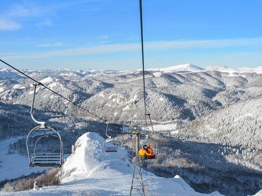 Колашин / Kolasin горнолыжный курорт Черногории. Фото 1