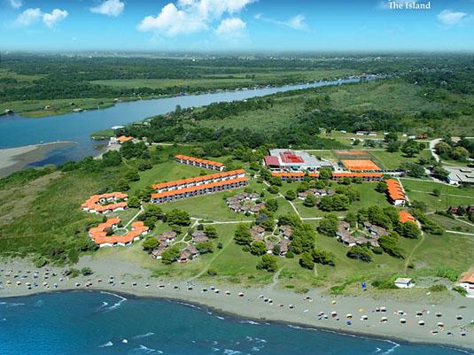 Ульцинь курорт Черногория: остров Ада-Бояна. Фото 2